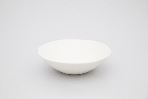 OFF-WHITE PORCELAIN DEEP PLATE 180MM