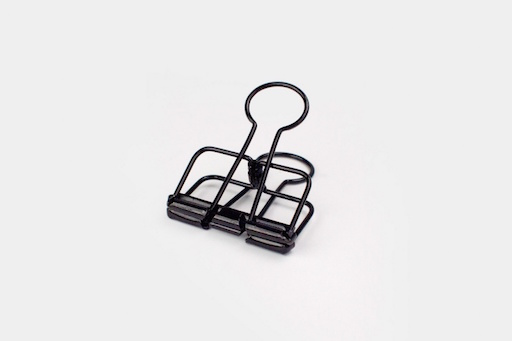 BLACK BINDER CLIPS 32mm