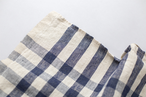 DARK BLUE GINGHAM KITCHEN CLOTH