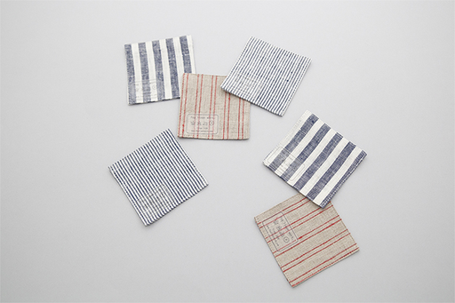 LINEN COASTERS, 2 PACK