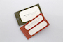 RED WASHI TEXTURED LABELS